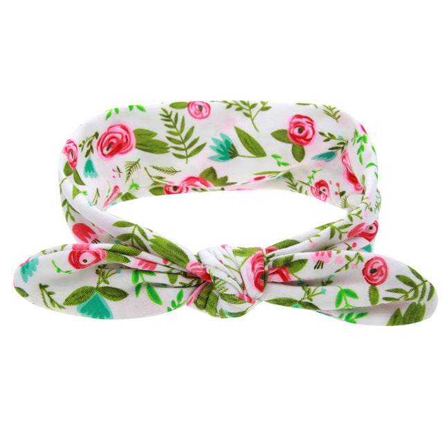 Baby Girls Floral Hairband
