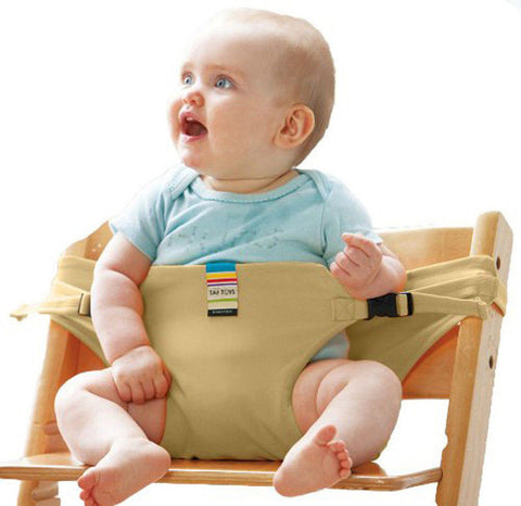 Portable Travel High Chair Harness Straps for Baby Infant
