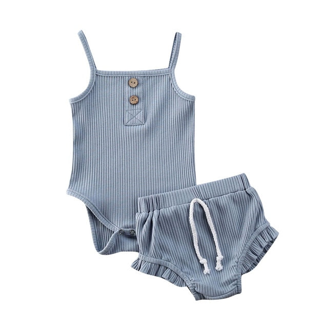Cute Baby Girl Summer Romper