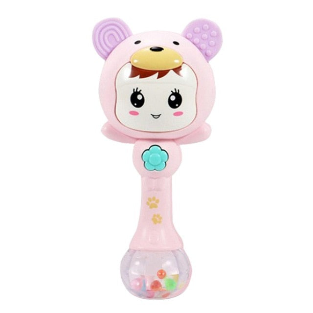 Hand Rattle Baby Teething Soft Toy