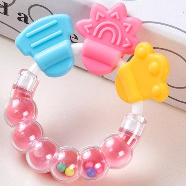 Baby Teether Pacifier Cartoon Toys