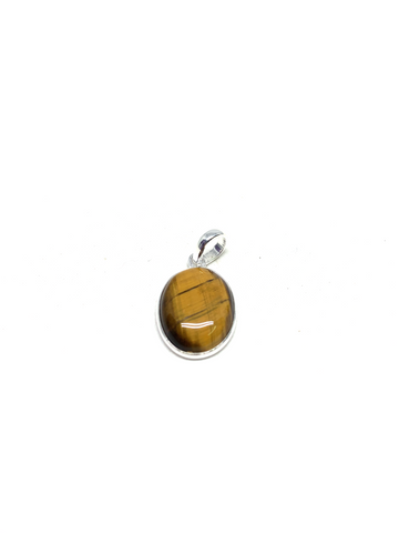 Gold Tiger Eye Pendant
