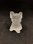 Clear Quartz French Bulldog