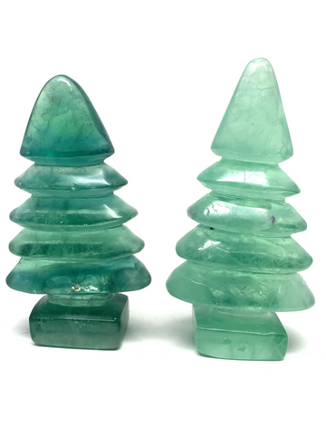 Green Fluorite Christmas Tree
