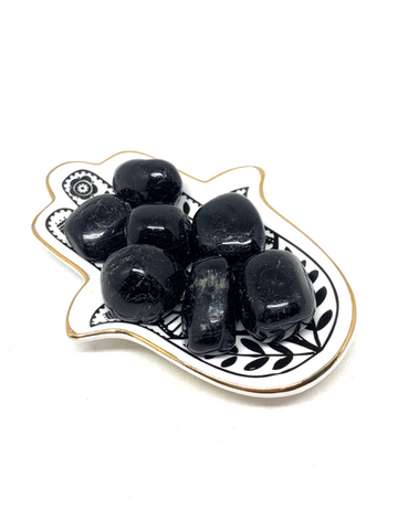 Black Tourmaline Tumble Stones