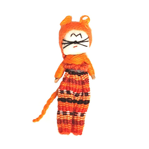 Cat Worry Doll