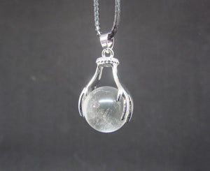 Clear Quartz Two Handed Pendant