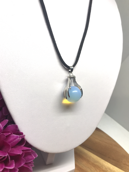 Opalite Two Handed Pendant