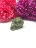 Rainforest Jasper (Rhyolite) Skull