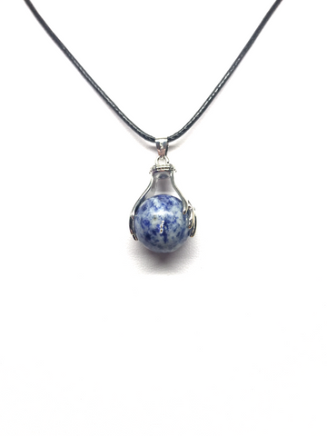 Sodalite Two Handed Pendant