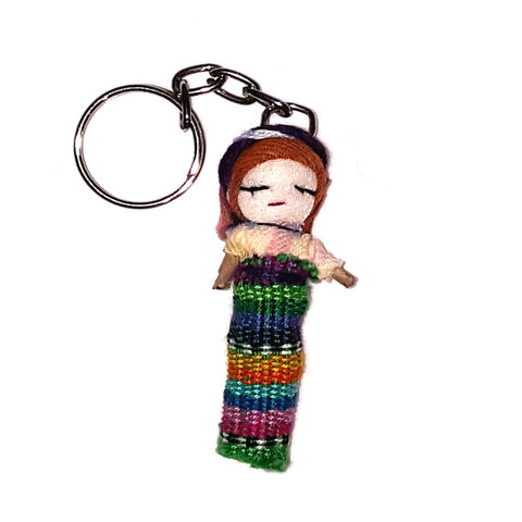 Worry Doll Key Chain