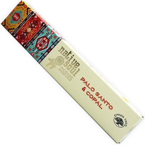 Native Soul - Palo Santo & Copal Incense Sticks