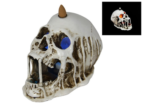 Skull Light Up Backflow Burner