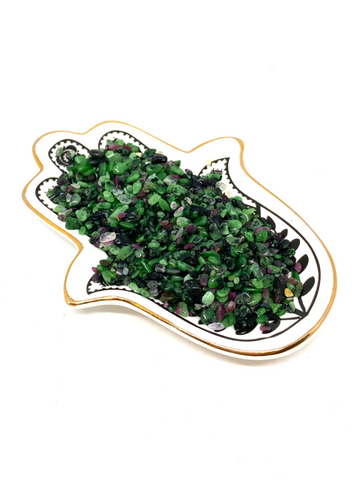 Ruby Zoisite Chips