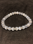 Selenite Bead Bracelet