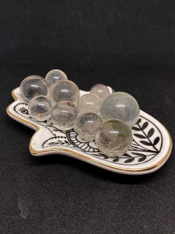 Clear Quartz with Inclusions Sphere