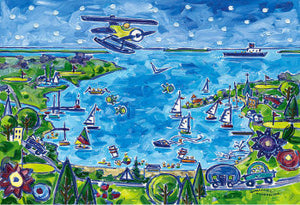 Happy Little Traverse Bay Cards