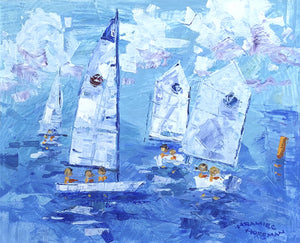Junior Regatta - Original Painting