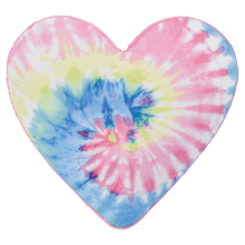 Load image into Gallery viewer, Scented Tie Dye Heart Pillow
