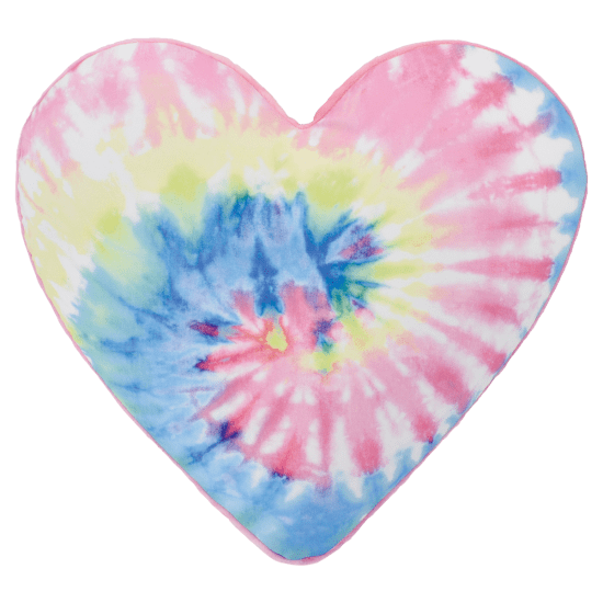 Scented Tie Dye Heart Pillow