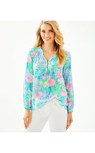 Elsa Top Multi               Swizzle In