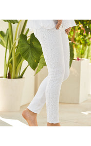 South Ocean Skinny Crop Resort White