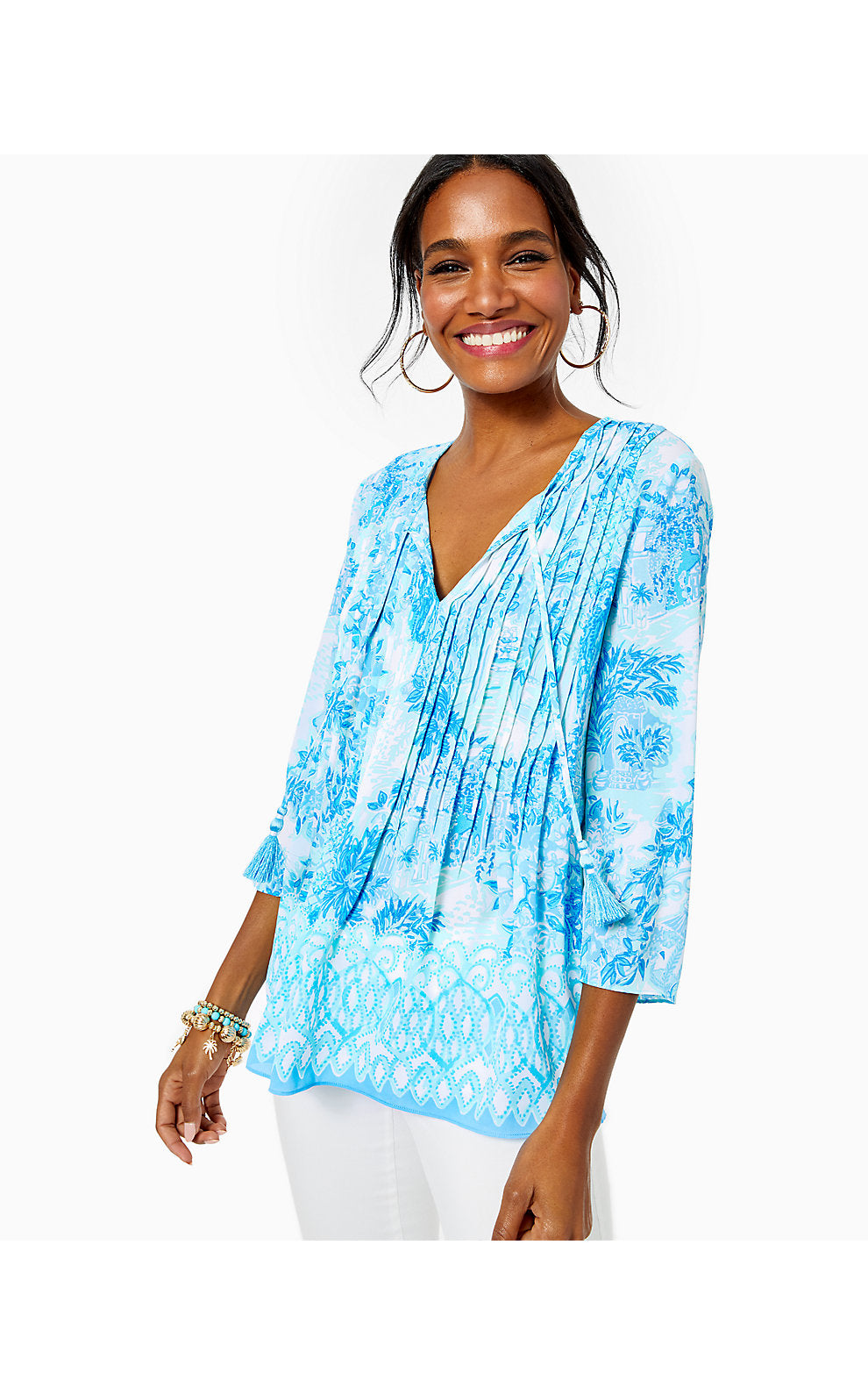Marilina Tunic Multi Toile Me About It