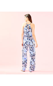 Dusk Jumpsuit Bright Navy Amore Please