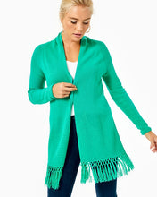Load image into Gallery viewer, Tatum Cardigan Everglades Green