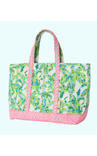 Load image into Gallery viewer, Mercato Tote Fresh Citrus Keep Palm