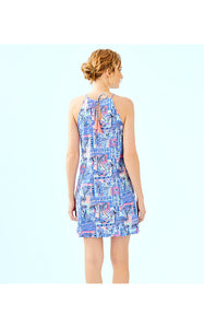 MARGOT DRESS WHISPER BLUE        YEAH BUOY