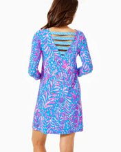 Load image into Gallery viewer, Ophelia Dress Pundy Blue          La Zebra Engineered