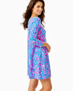 Ophelia Dress Pundy Blue          La Zebra Engineered