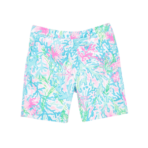 Mens Beaumont Stretch Short Multi Coral Bay