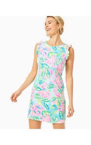 Carmelisa Shift Dress Multi Totally Blossom