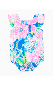 Emilia Bodysuit Multi Peony For Your Thoughts