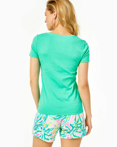 Halee Top Gustavia Green
