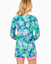 Load image into Gallery viewer, Etta Long Sleeve Top Macaw Blue          Sweet Escape