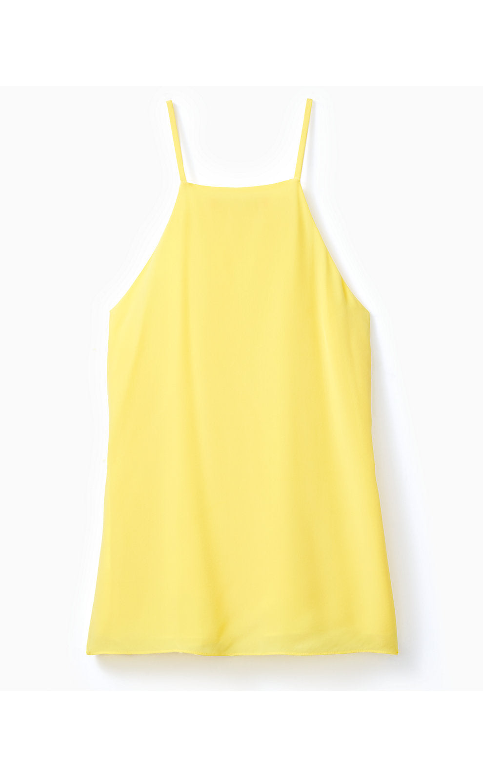 Rae Silk Top Lillys Lemon