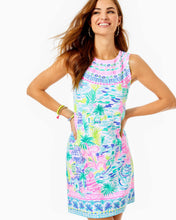 Load image into Gallery viewer, Gellar Shift Dress Multi Private Island Engineered Dress