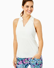 Load image into Gallery viewer, Lakelyn Bra Polo Upf 50+ Resort White