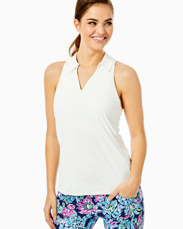 Lakelyn Bra Polo Upf 50+ Resort White