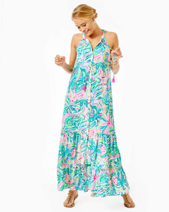 Luliana Swing Maxi Dress Multi One In A Melon