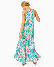 Load image into Gallery viewer, Luliana Swing Maxi Dress Multi One In A Melon