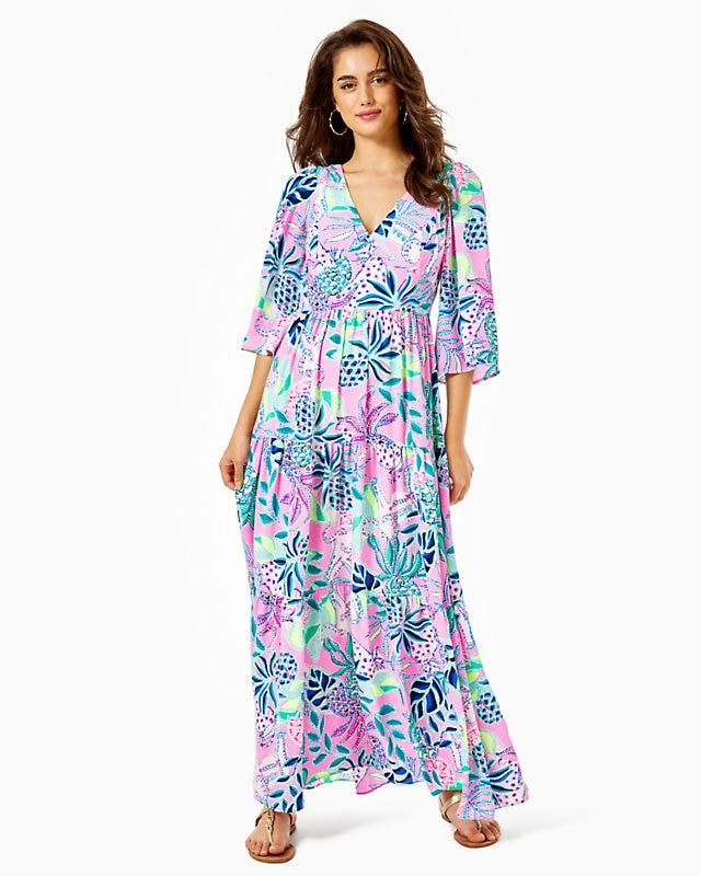 Rease Maxi Dress Lilac Rose          Chica Ticas