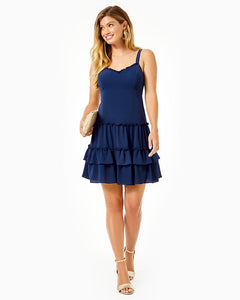 Gracey Dress True Navy