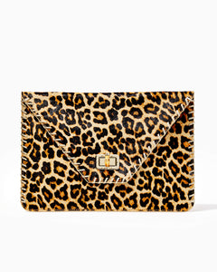 Celina Clutch Multi               Leopard Haircalf