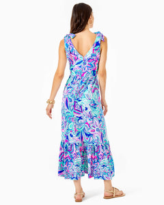 Maxine Midi Dress Multi               Living The Dream