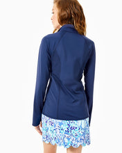Load image into Gallery viewer, Tennison Jacket Upf 50+ True Navy