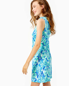 Azlynn Dress Sea Glass Aqua      Seeing Double